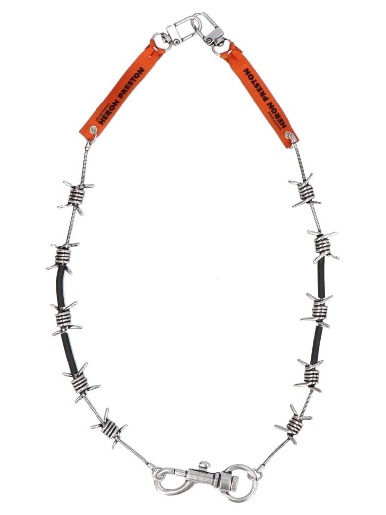HERON PRESTON 'barbwire' Necklace - Silver