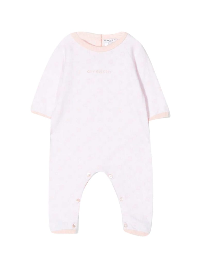 Givenchy Pink Baby Suit - Rosa