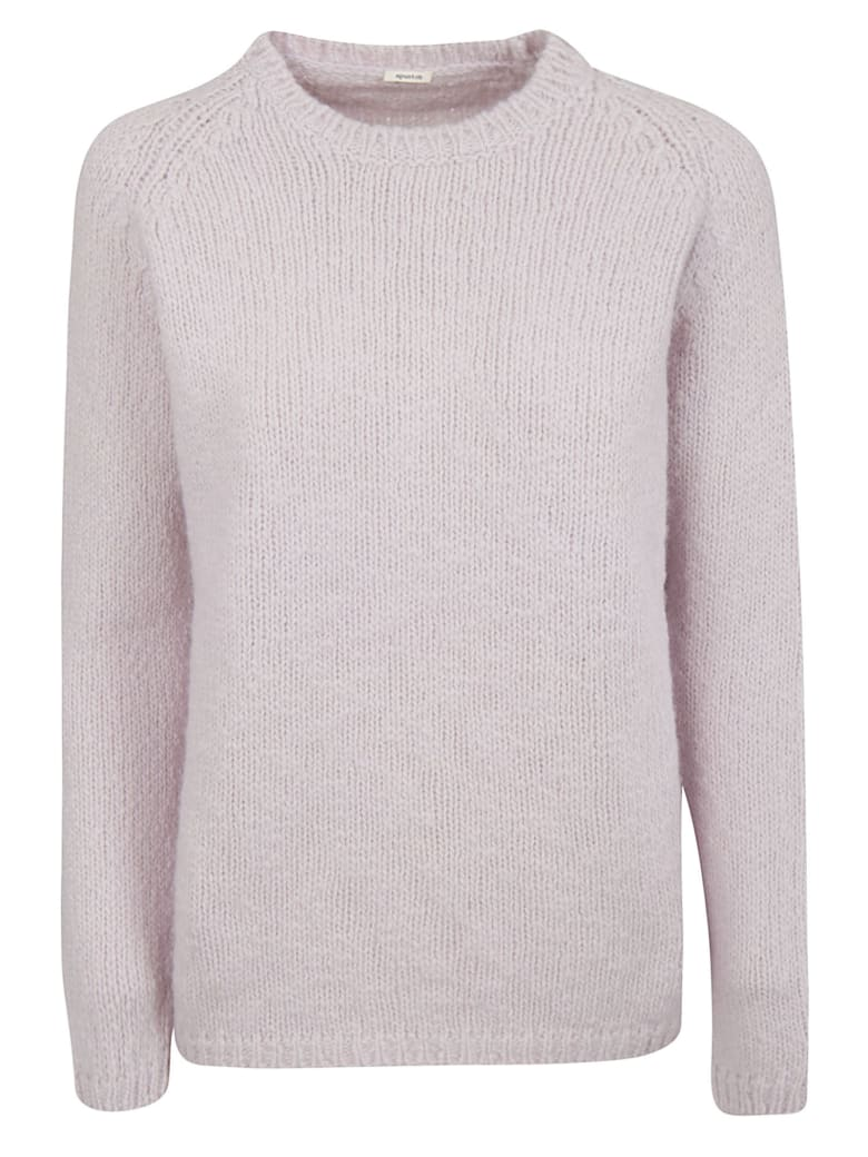 A Punto B Knitted Sweater - Pink