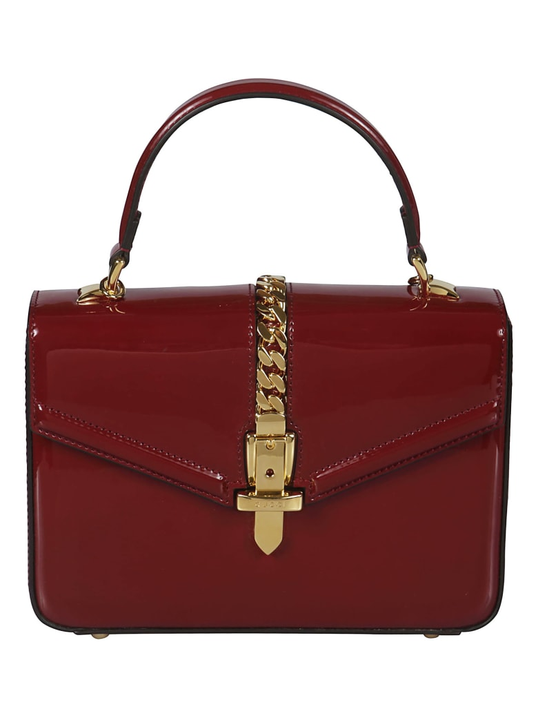 Gucci Sylvie Tote - Red