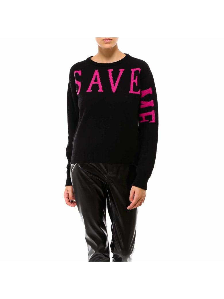 Alberta Ferretti Love Me Collection Sweater - Black