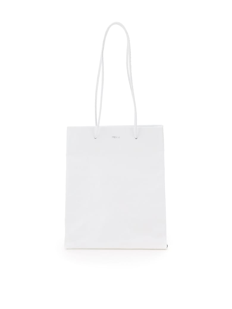 Medea Tall Busted Bag - BIANCO (White)