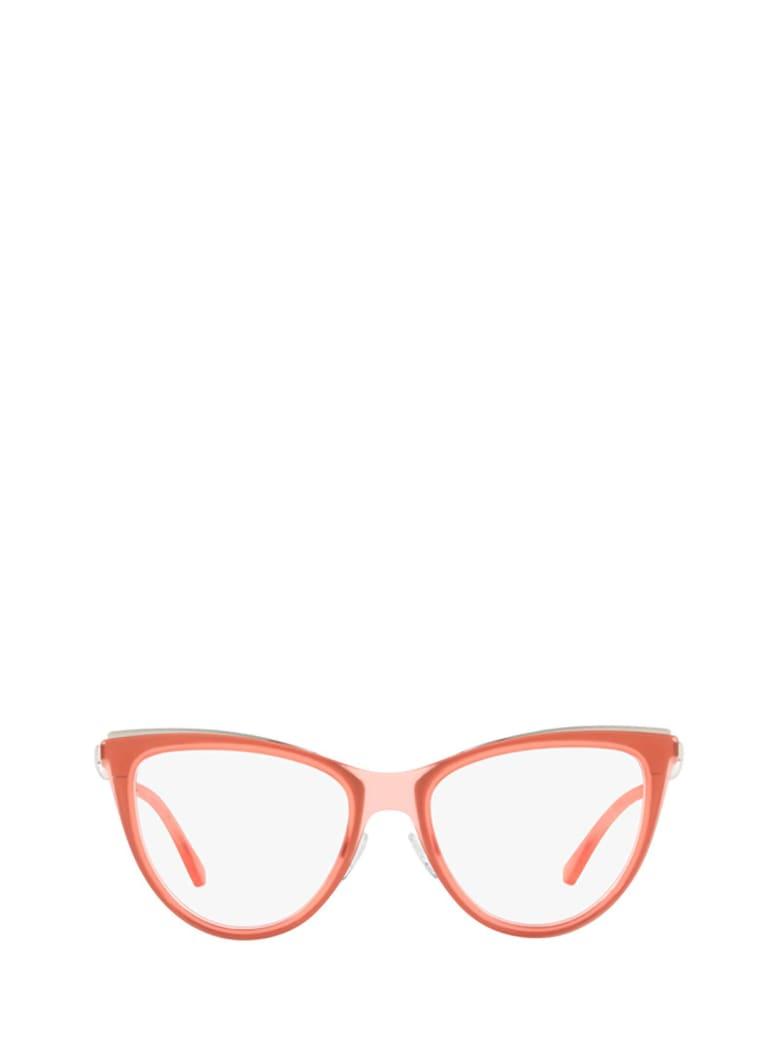 Emporio Armani Emporio Armani Ea1074 Matte Transparent Coral Glasses - 3216
