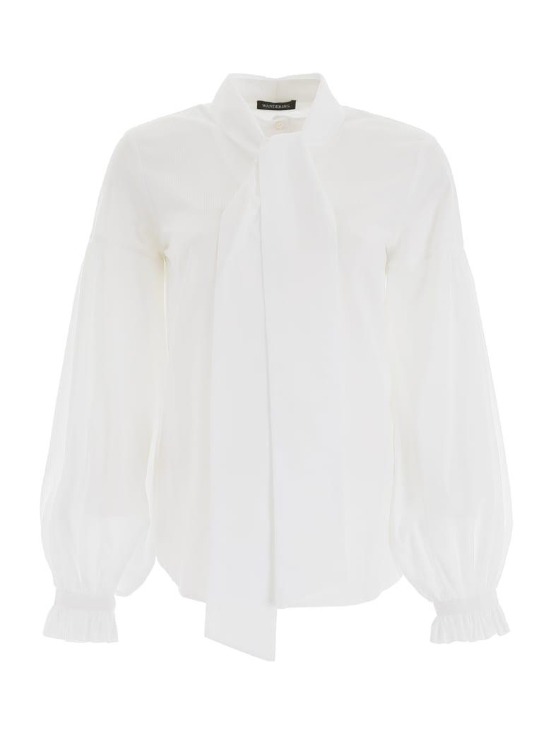 WANDERING Bow Shirt - AS SAMPLE (White)