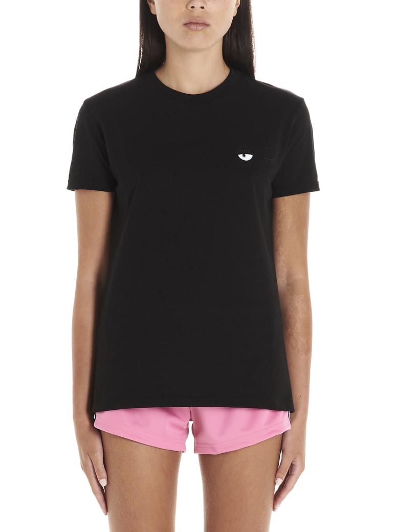 Chiara Ferragni 'flirting Eyes' T-shirt - Black