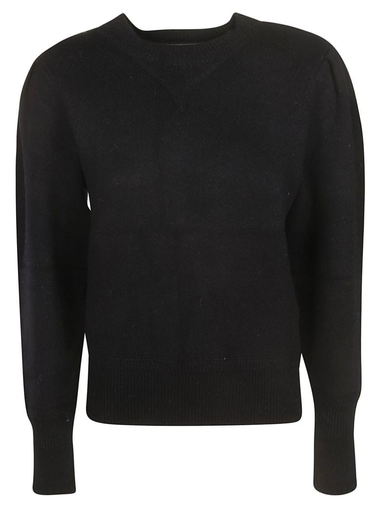 Isabel Marant Ribbed Sweatshirt - black
