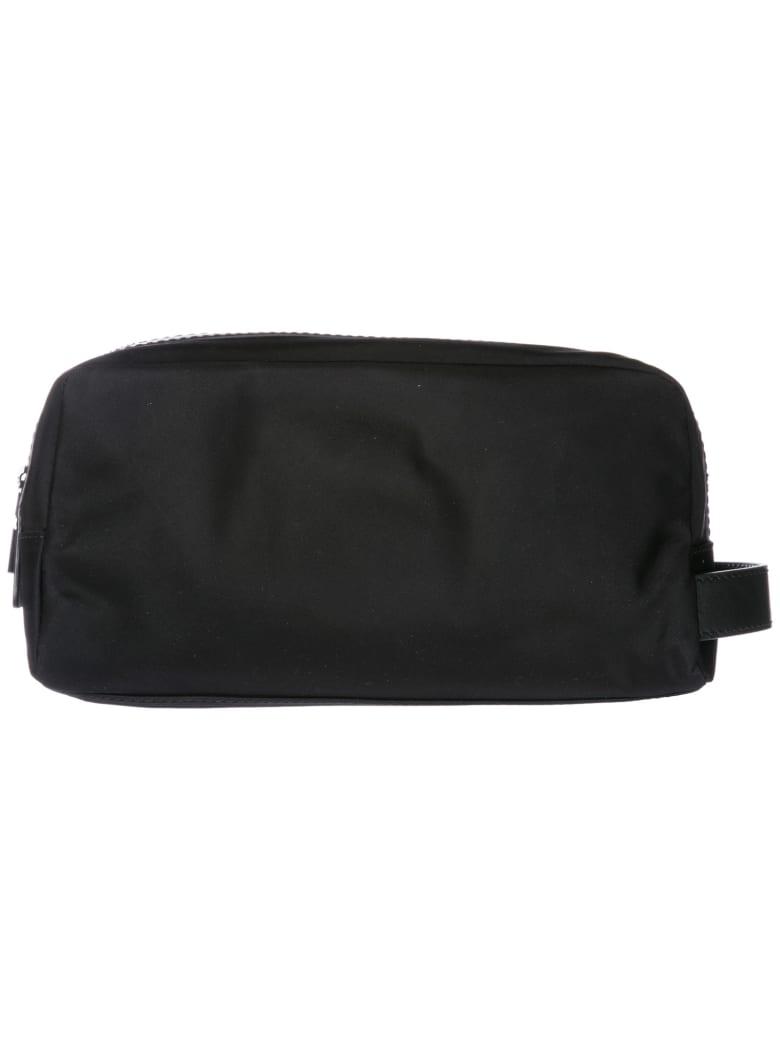Michael Kors  Travel Toiletries Beauty Case Wash Bag In Nylon Kent - Black