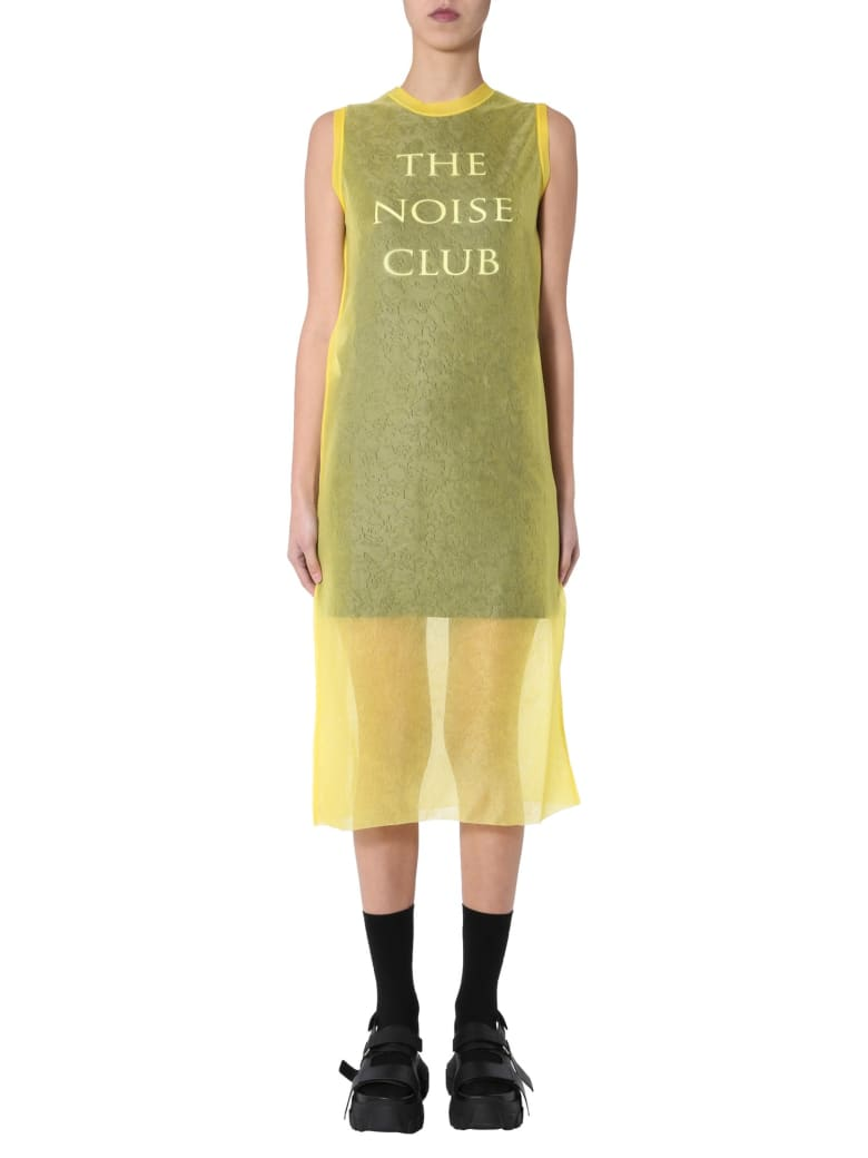 McQ Alexander McQueen Pencil Dress - GIALLO