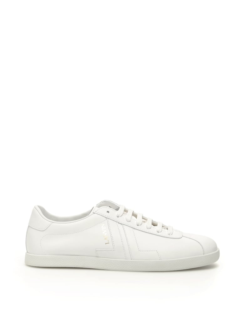 Lanvin Leather Jl Sneakers - White
