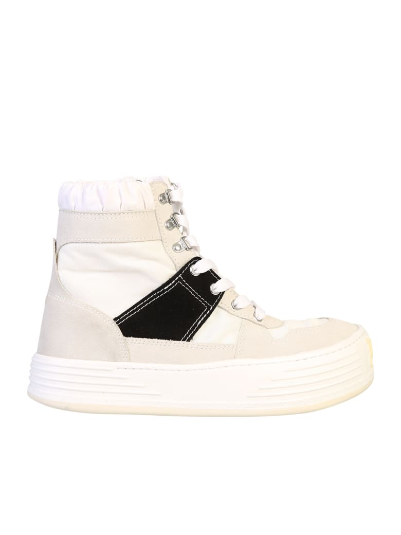Palm Angels Lace-up Sneakers - Grigio