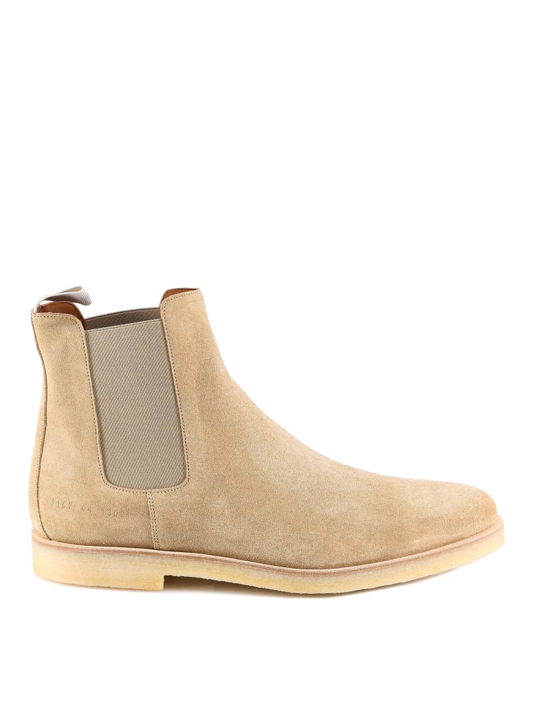 Common Projects Chelsea Boots - Beige