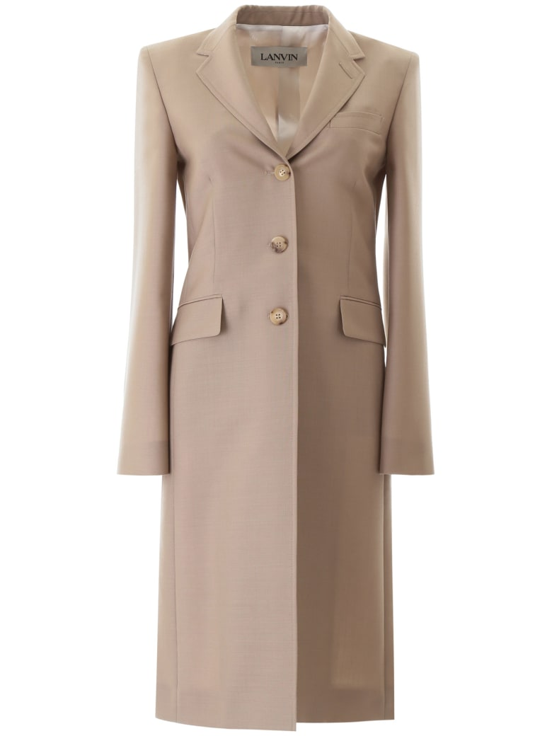 Lanvin Tailored Coat - SAND (Beige)