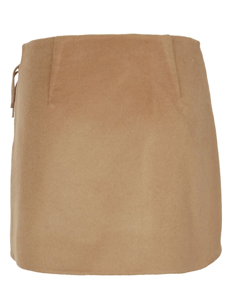 Parosh Short Skirt - Cammello