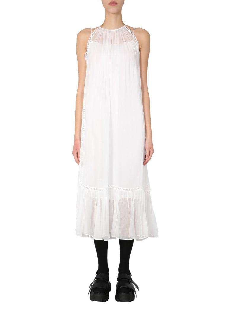 McQ Alexander McQueen Midi Dress - BIANCO