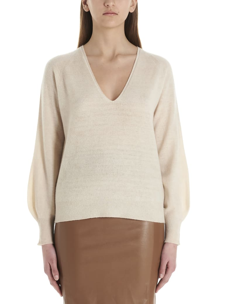 (nude) Sweater - Beige
