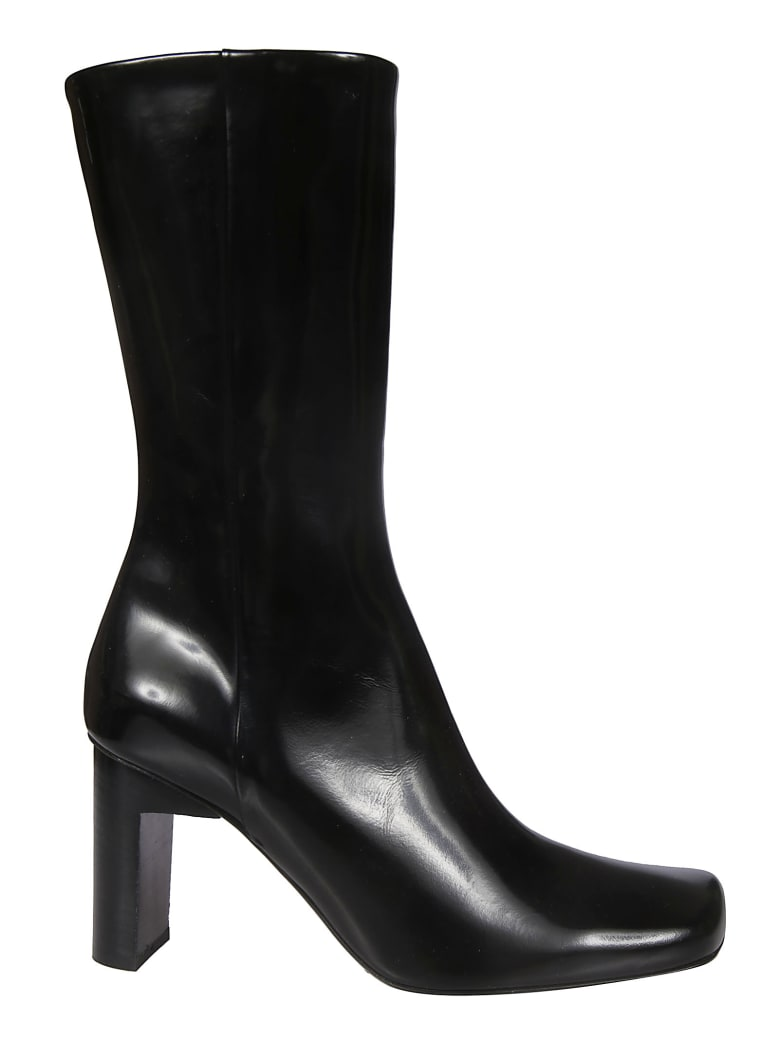 Alyx Side Zipped Ankle Boots - Nero