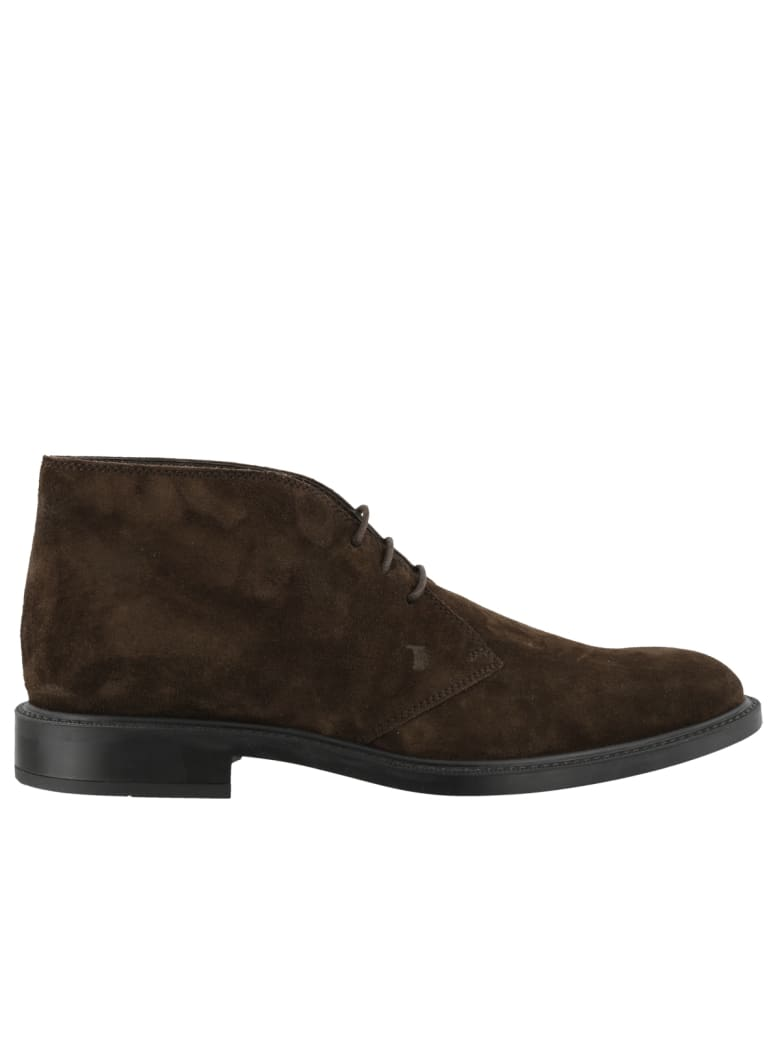 Tod's Laced Up Shoes - Brown