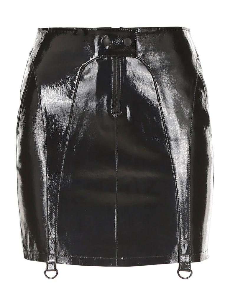 RTA Zander Mini Skirt - BLACK (Black)