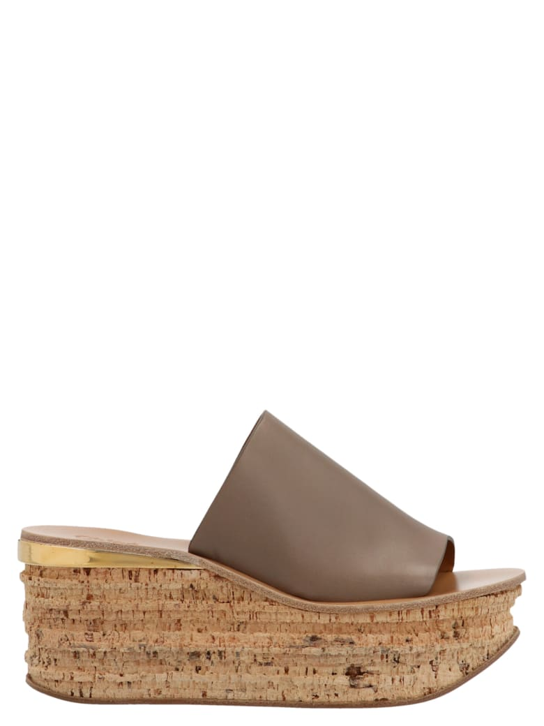 Chloé 'camille' Shoes - Grey