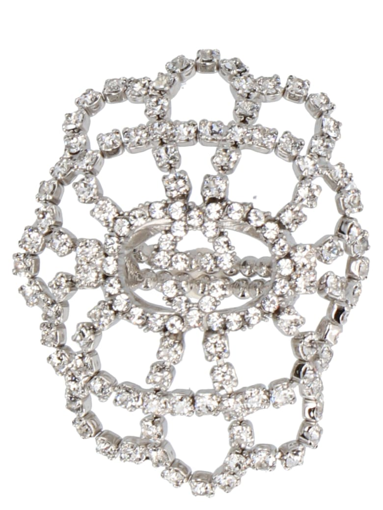 Gucci 'gg' Ring - Silver