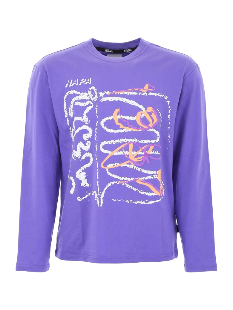 Napa By Martine Rose 1987 T-shirt - PURPLE (Purple)