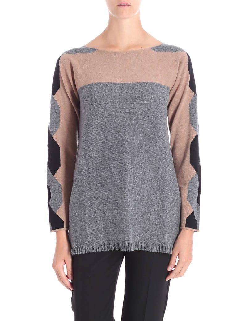 Kangra Wool And Silk Sweater - GREY