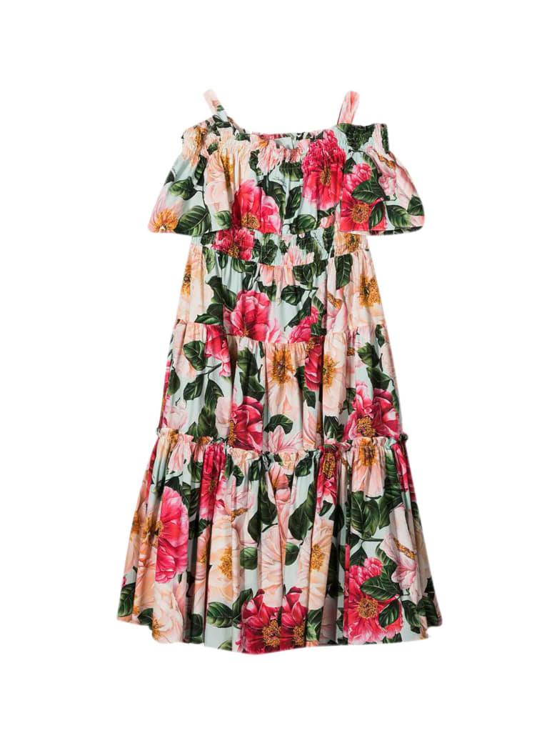 Dolce & Gabbana Floral Dress - Multicolor