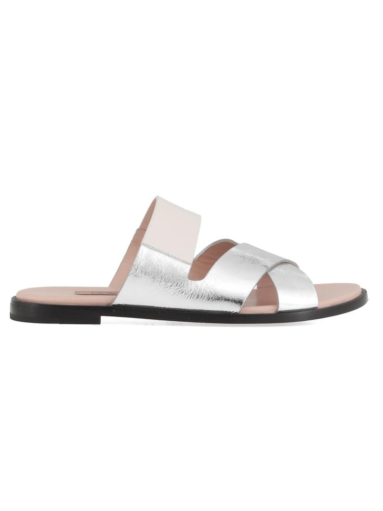 Coliac Leather Sandal - SLV