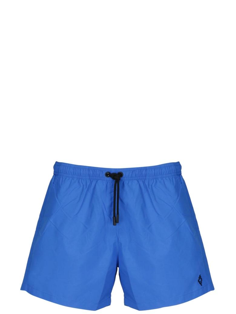 Marcelo Burlon Cross Swimshorts - Blue