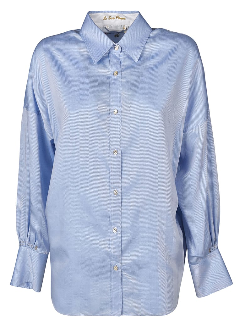 Le Sarte Pettegole Pointed Collar Shirt - Blue