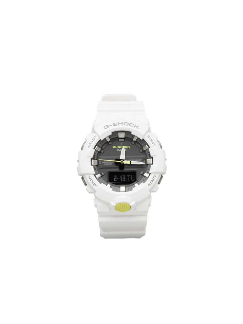G-Shock Anadigital Wrist Watch - White