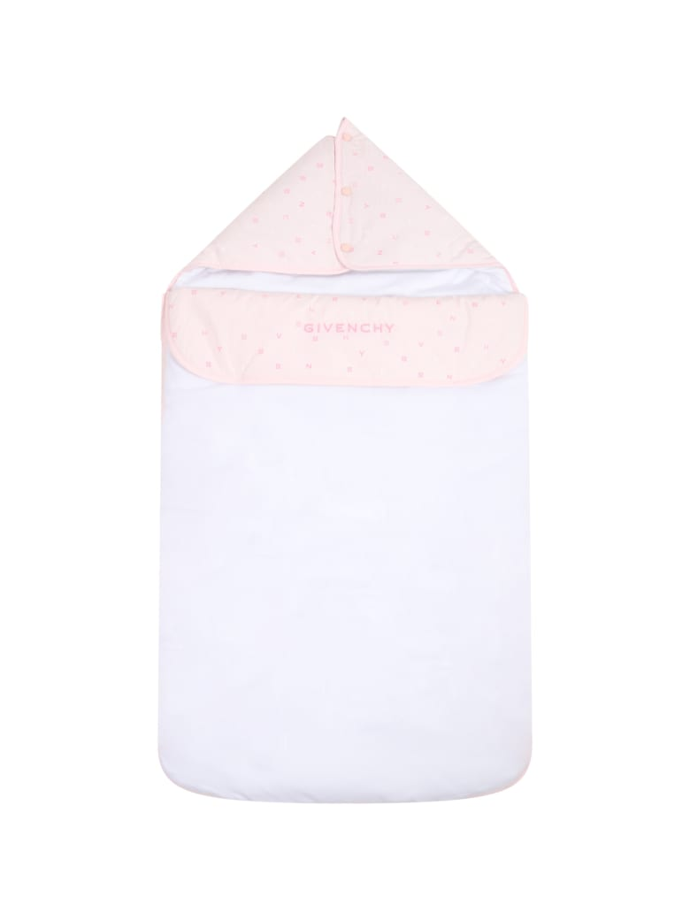Givenchy Multicolor Sleeping Bag For Babyboy - Pink