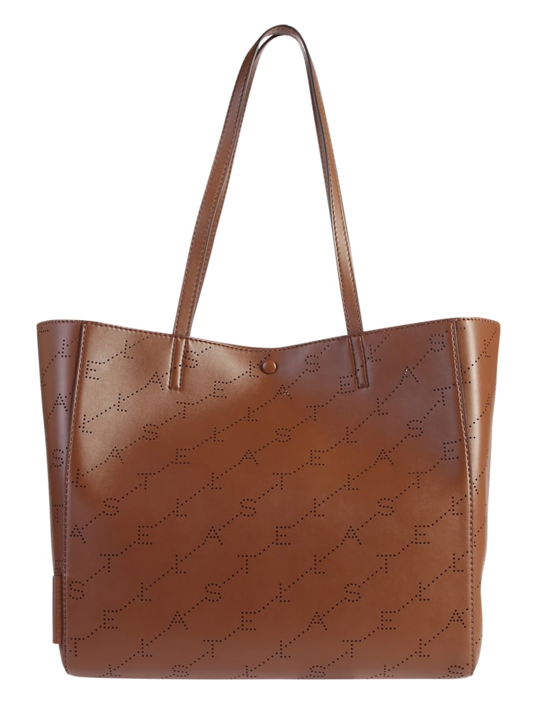 Stella McCartney Brown Monogram Small Bag - Brown