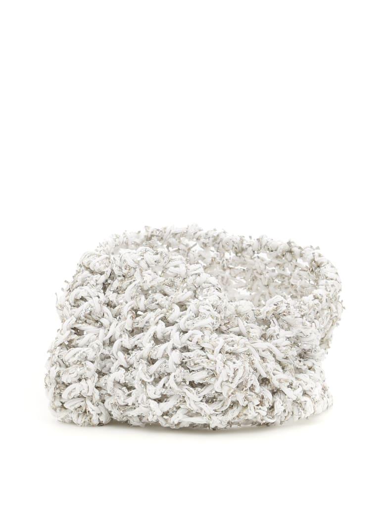Flapper Alfa Headband - WHITE SILVER (White)