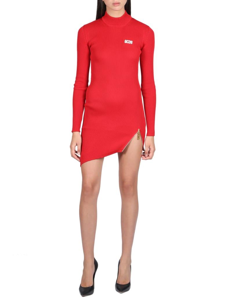 GCDS Dress - Rosso