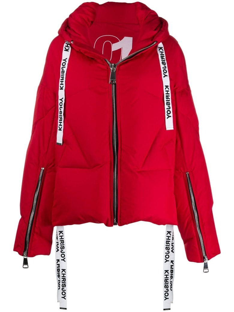 Khrisjoy Puffer Jacket - Red