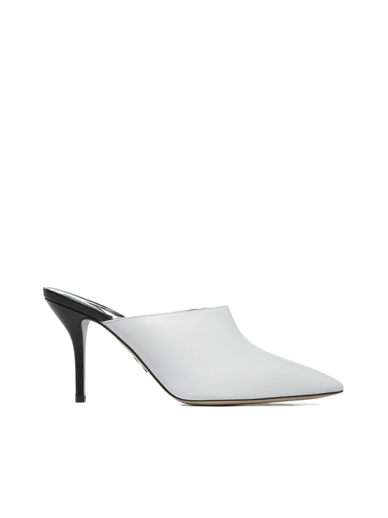 Paul Andrew Flat Shoes - Bianco nero