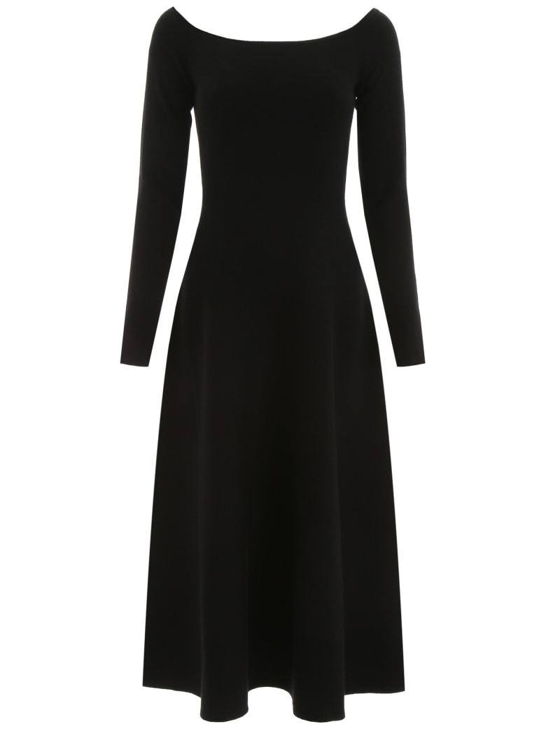 Gabriela Hearst Gurshka Midi Dress - BLACK (Black)