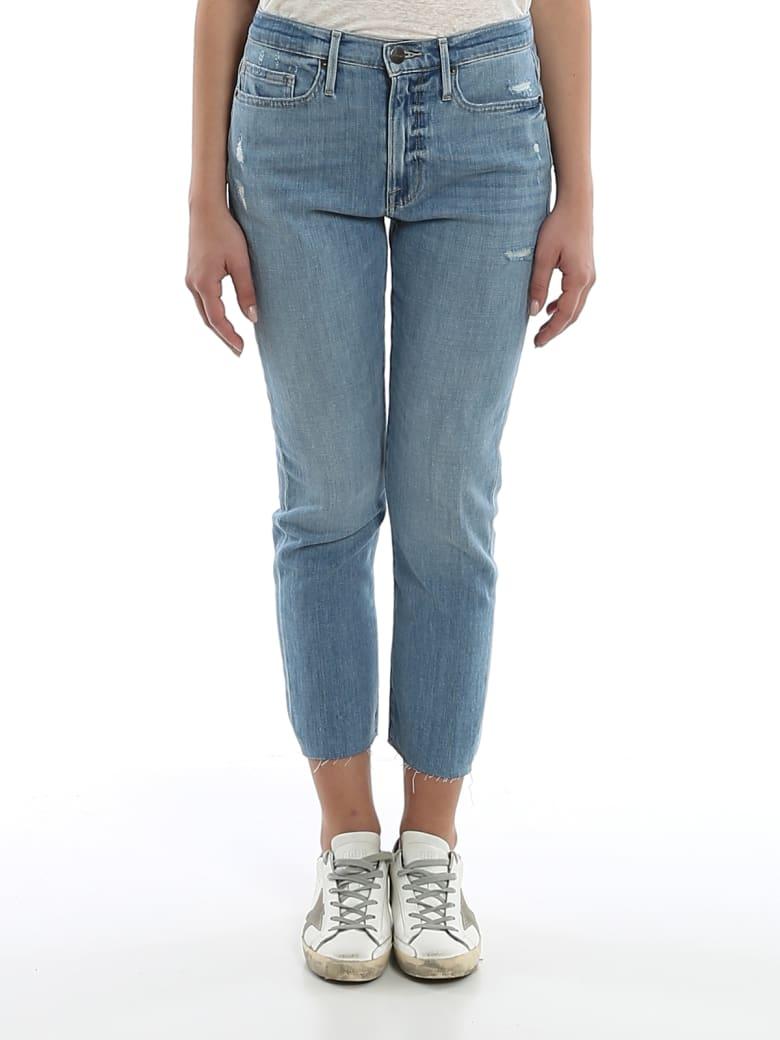 Frame - Boyfriend Jeans - Denim