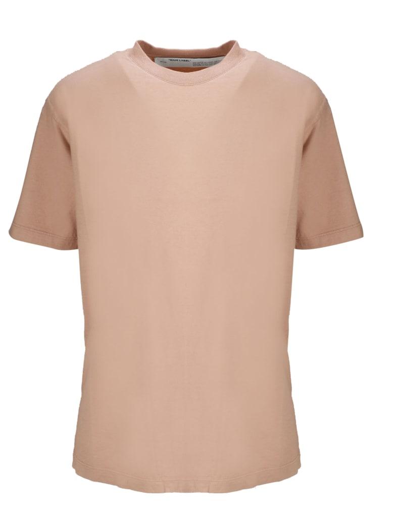 Off-White Short Sleeve T-Shirt - Pink & Purple