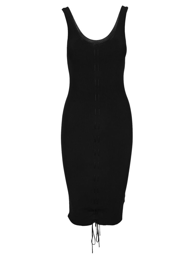 Helmut Lang Lacing Dress - BLACK