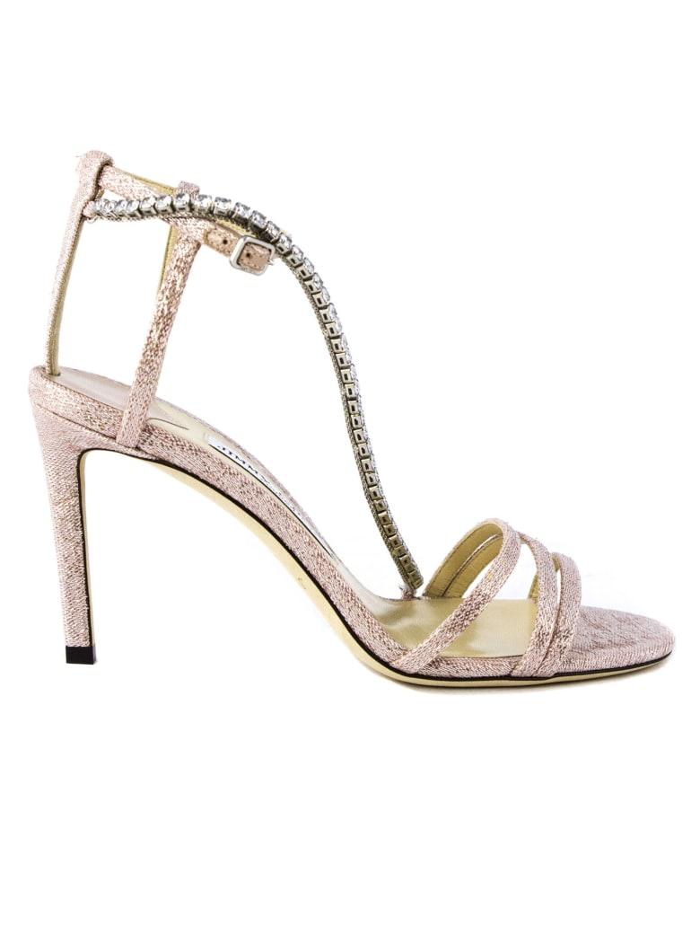Jimmy Choo Ballet Pink Thaia Sandals - Rosa