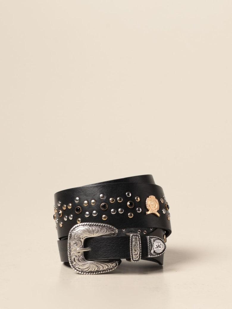Hilfiger Denim Hilfiger Collection Belt Hilfiger Collection Leather Belt With Metal Buckle - Black