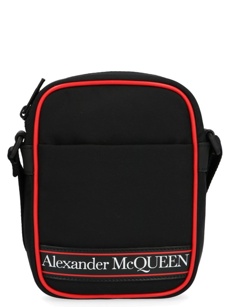 Alexander McQueen 'messanger' Bag - Black