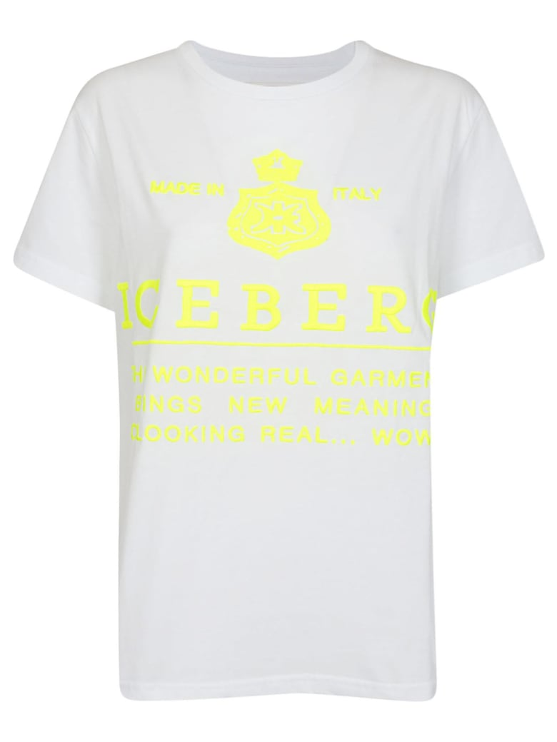 Iceberg Printed T-shirt - Multicolor