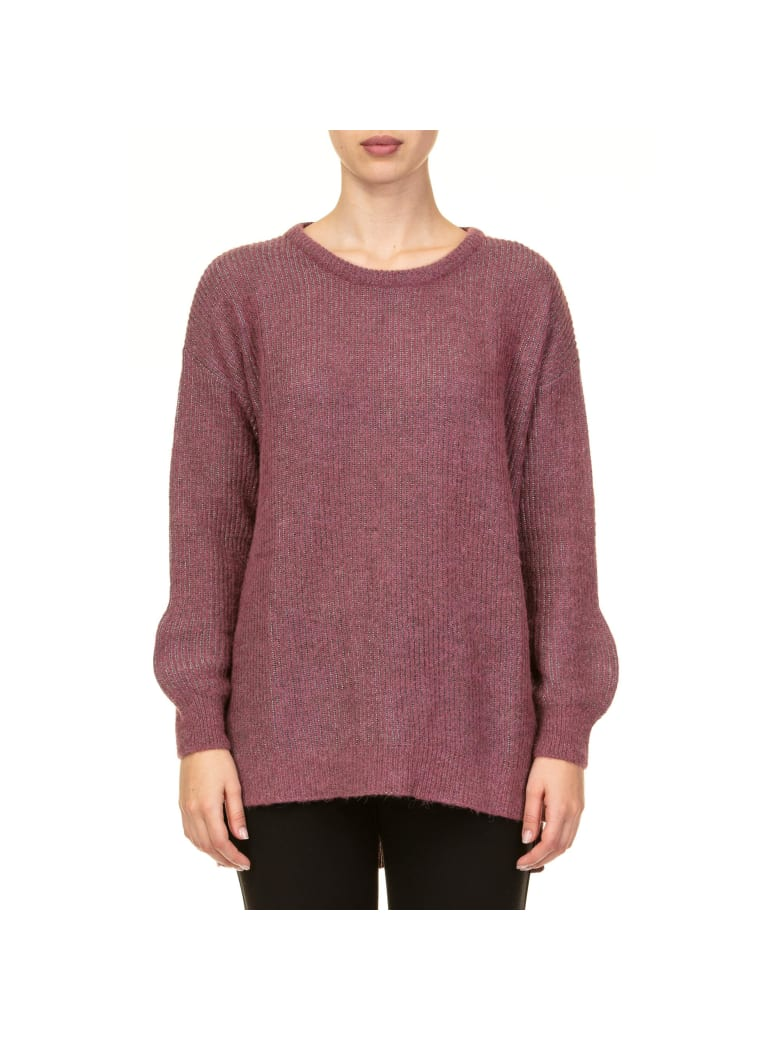 Kangra Lurex Sweater - RASPBERRY