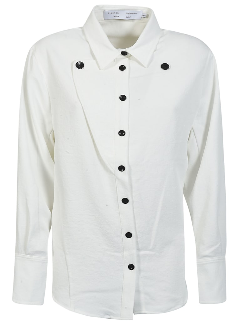 Proenza Schouler Multi-buttoned Shirt - Off-White
