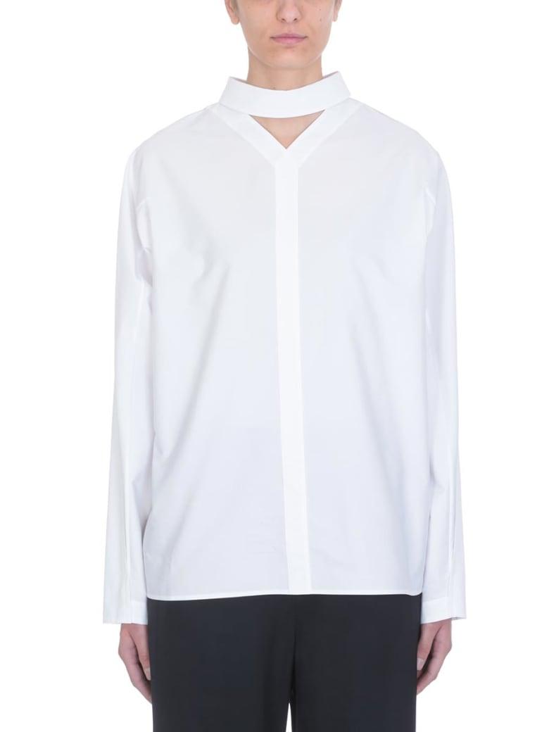Jil Sander White Cotton Shirt - white