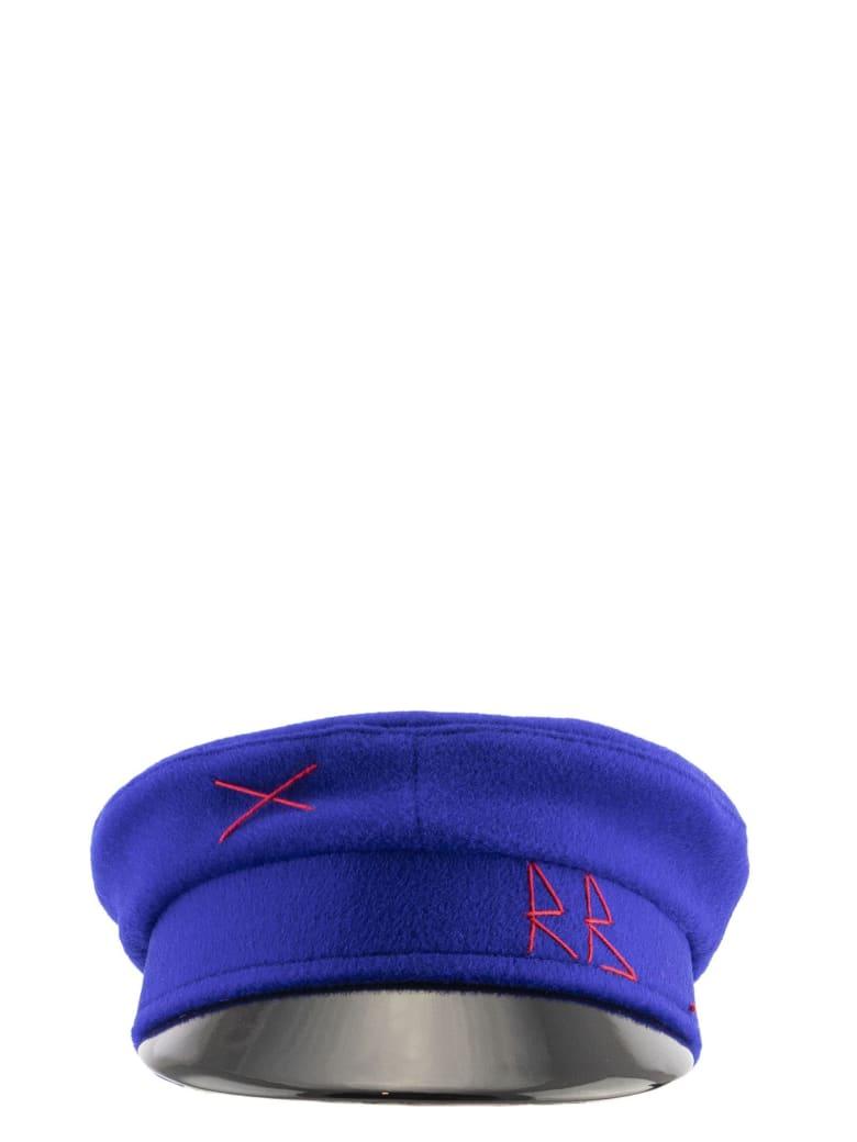 Ruslan Baginskiy Baker Boy Cap Blue - Blue
