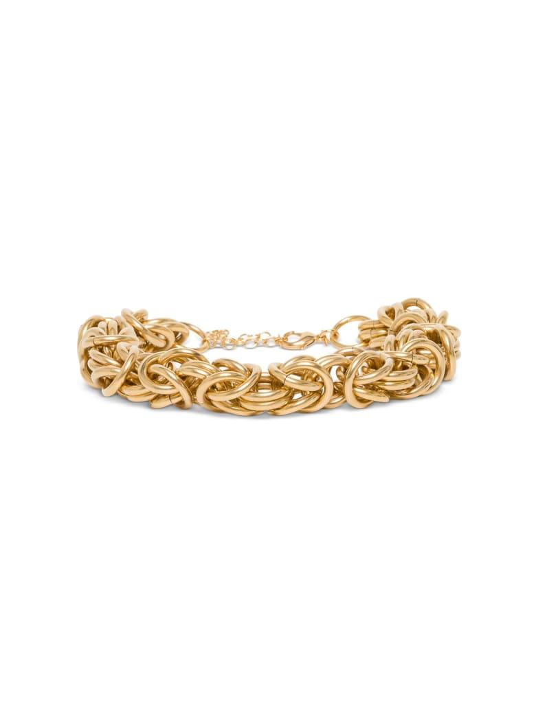 Alberta Ferretti Chain Necklace - Metallic